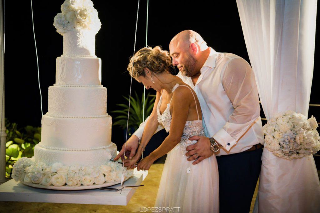 Wedding cake punta cana, Dominican Republic.